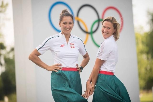 Jolanta Ogar-Hill i Agnieszka Skrzypulec
