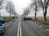 Śmiertelny wypadek pod Krotoszynem na DK 36. Jedna osoba nie żyje [ZDJĘCIA]