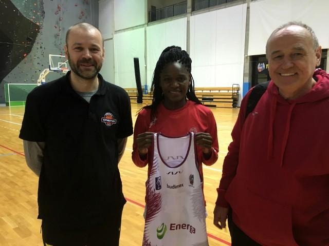 Melissa Diawakana jest już po pierwszym treningu w Toruniu