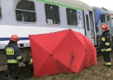 Kętrzyn: Wypadek śmiertelny na torach. Pociąg Białystok - Szczecin potrącił kobietę. Pasażerowie czekali 225 minut [ZDJĘCIA]