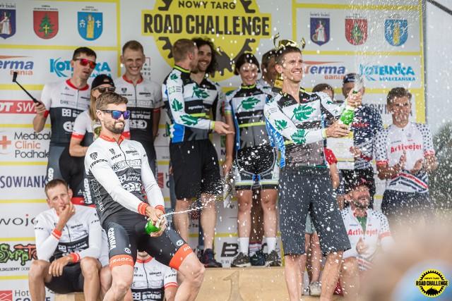 Tak Agrochest Team świętował zwycięstwo w klasyfikacji drużynowej na wyścigu Nowy Targ Road Challenge