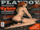 Seksowna dziewczyna Wiedźmina na okładce Playboya