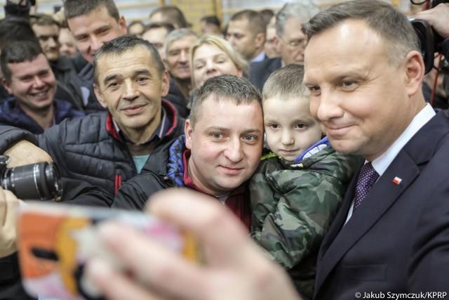 Prezydent Polski Andrzej Duda chętnie odwiedza Podlaskie