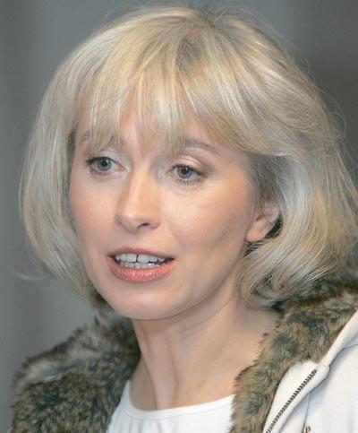 Manuela Gretkowska - twarz Partii kobiet