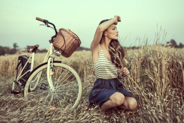 Rower jest nieodłącznym elementem życia na polskiej wsi.