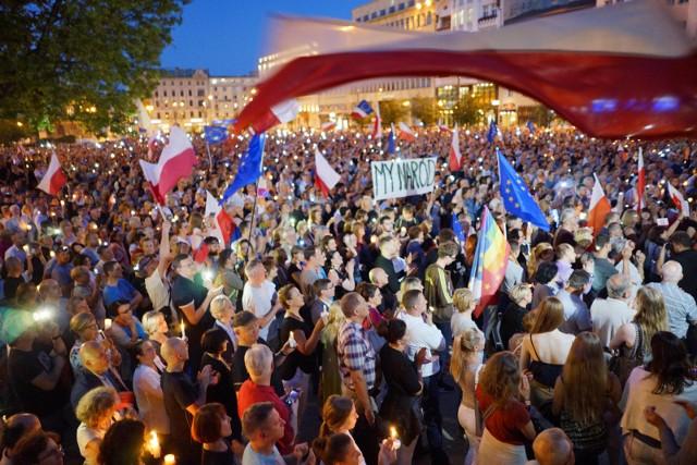 W sobotę demonstracja odbędzie się w parku Kasprowicza.