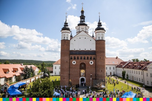 Cerkiew Zwiastowania NMP w Supraślu wyświęcona. To jedyna taka świątynia w Polsce