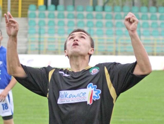 Kamil Wacławczyk, podobnie jak jego koledzy nie zaliczy występu w Stróżach do udanych