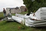 W kilka chwil rodzina z Będzitówka straciła dach nad głową