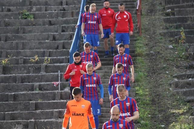 31.10.2020. Mecz III ligi na stadionie przy Olimpijskiej: Polonia Bytom - Lechia Zielona Góra 2:0.