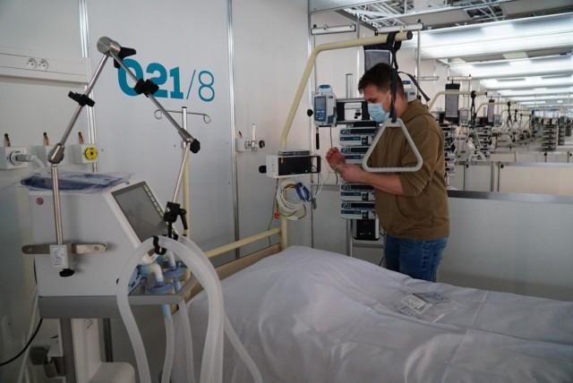 Do szpitala tymczasowego trafiać będą głównie pacjenci przyjmowani z innych szpitalnych oddziałów ratunkowych