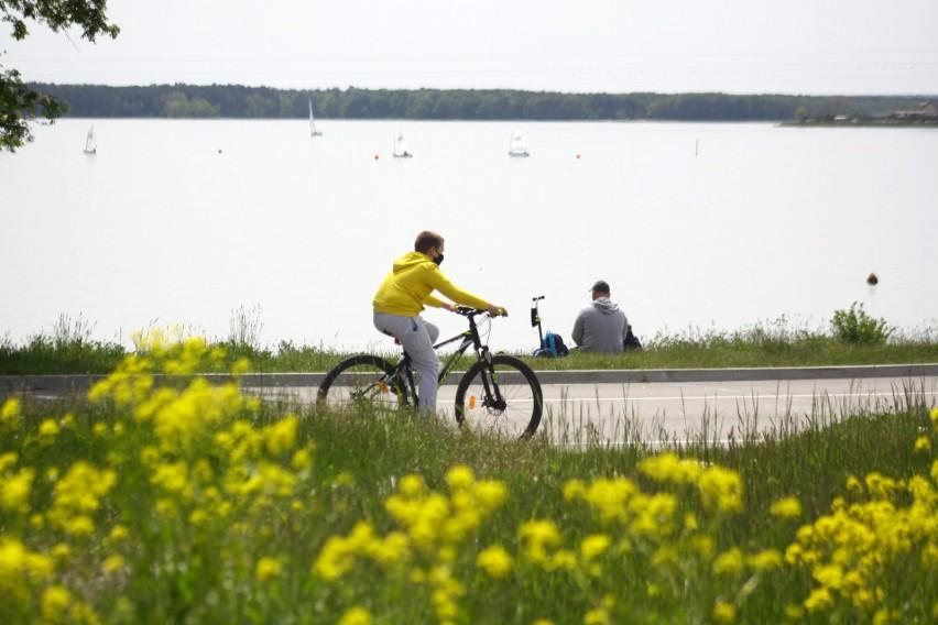 Słoneczny weekend nad Zalewem Zemborzyckim. Zobacz, jak wypoczywali lublinianie
