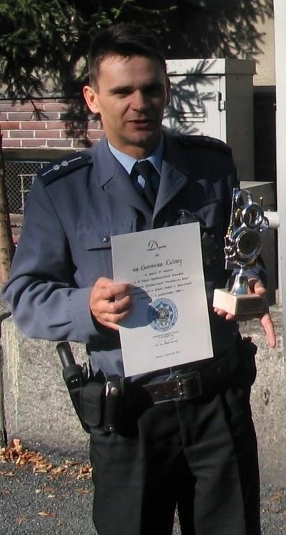 Kazimierz Kulesz w policji pracuje od 13 lat.