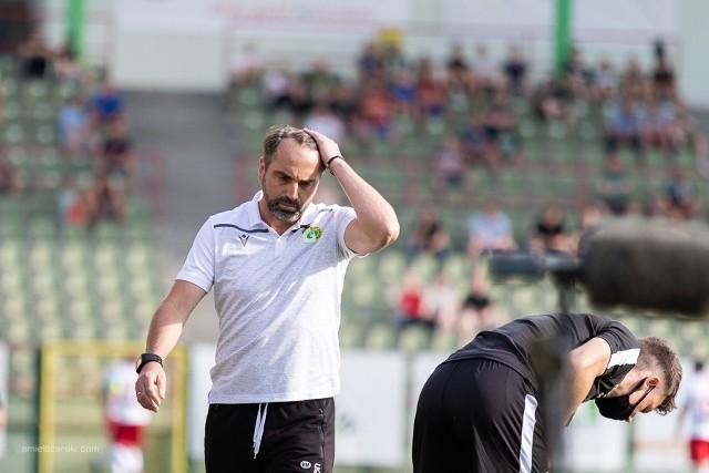 Szczególny mecz trenera Bełchatowa