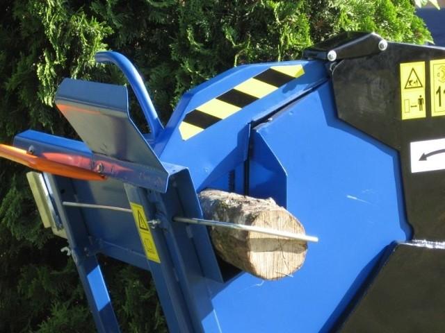 Maszyny do przygotowania drewna opałowego produkowane przez Agromech