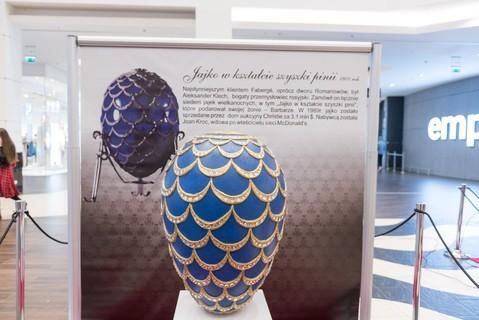 Wystawa jaj Fabergé w Magnolia Park