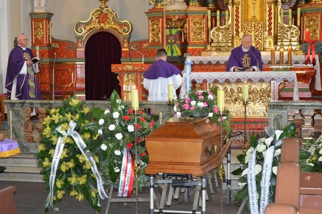 Pogrzeb doktora Krzysztofa Spałka odbył się w Krasiejowie.