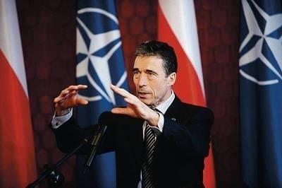 Podstawowym zadaniem NATO była, jest i będzie obrona terytoriów i naszej ludności - deklarował Anders Fogh Rasmussen Fot. Grzegorz Jakubowski (PAP)