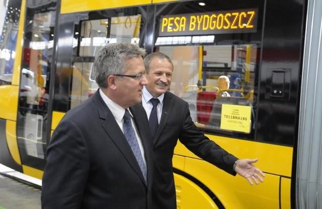 Prezydent już gościł w Pesie - we wrześniu 2013 roku.
