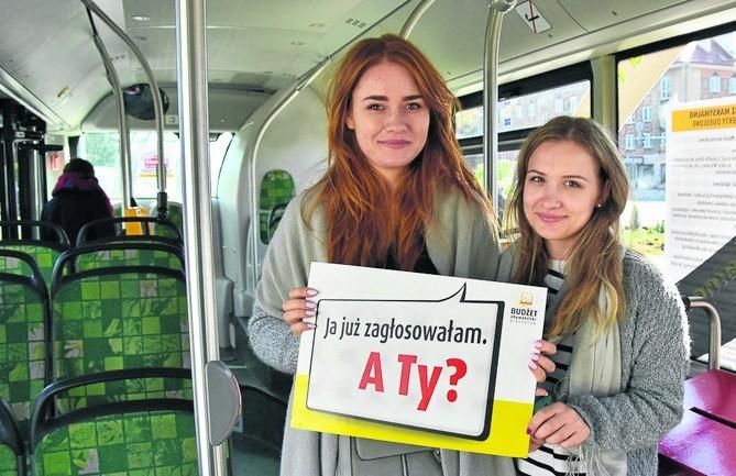 Głosować można też w punkcie mobilnym, czyli autobusie. W...