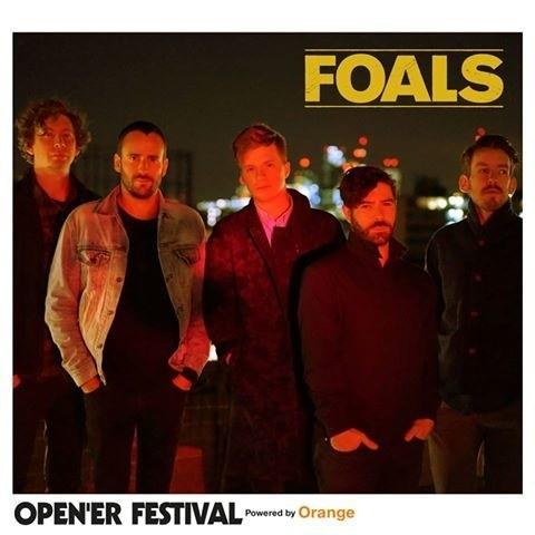 Foals wystąpią ponownie na Open'er Festival