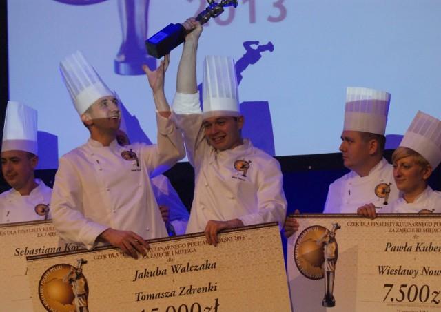 Zdobywcy Kulinarnego Pucharu Polski 2013 Jakub Walczak i Tomasz Zdrenka z Restauracji Platinum w Poznaniu