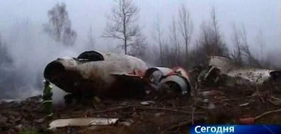 Katastrofa samolotu prezydenckiego w Smoleńsku - 10 kwietnia, godz. 8.56. Zginęło 96 osób.