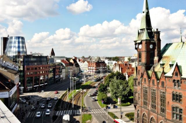 Trasa W-Z we Wrocławiu