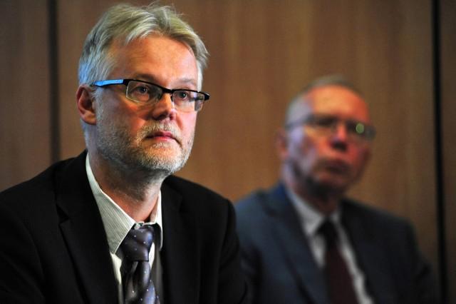 Dr Tadeusz Jędrzejczyk, dyrektor Departamentu Zdrowia Urzędu Marszałkowskiego województwa pomorskiego, b. prezes Narodowego Funduszu Zdrowia