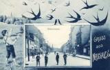 Najstarsza i najważniejsza ulica w Nowej Soli na widokówkach sprzed ponad stu lat. Chłopcy w krótkich portkach wciąż robią wrażenie