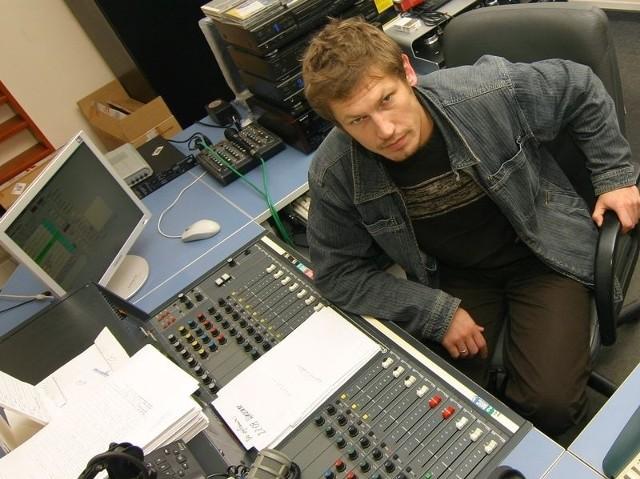 Radiowy inżynier dźwięku, słupszczanin Grzegorz Łotysz niczego nie jest pewien.