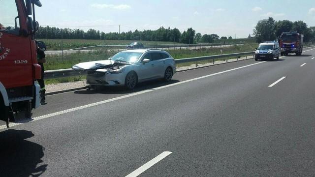 Żabikowo Prywatne. Wypadek w okolicach miejscowości Szumowo. Utrudnienia w ruchu na DK8