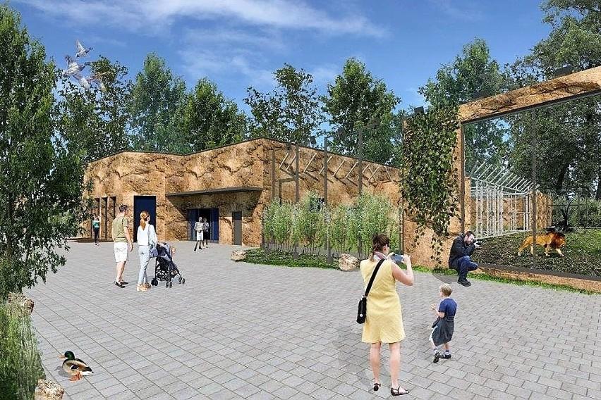 Zoo Opole Ruszyla Budowa Wybiegu Dla Lwow I Tygrysow Ogrod Chce
