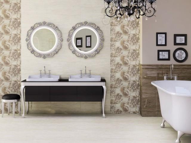 ŁazienkaŁazienki w stylu lat dwudziestych i trzydziestych ubiegłego wieku są ponadczasowe.