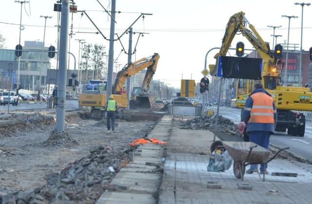 Obecnie prowadzone prace na trasie W-Z nie wymagają pozwolenia