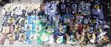 Wystawa plastronów Falubazu. Na stadionie żużlowym w Zielonej Górze