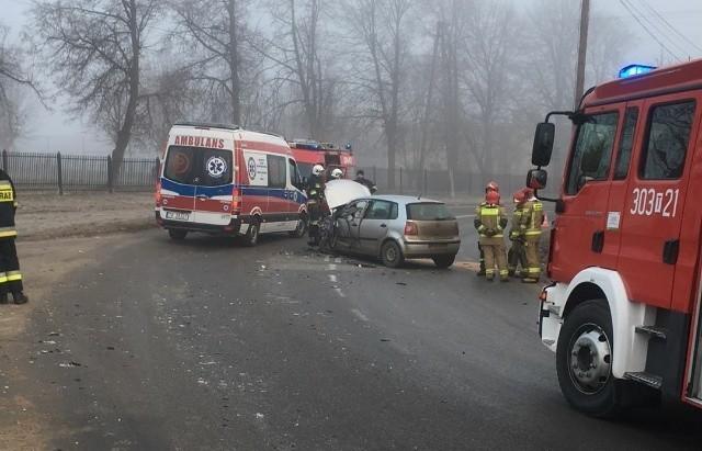 Na miejscu środowego wypadku w Jaworzni