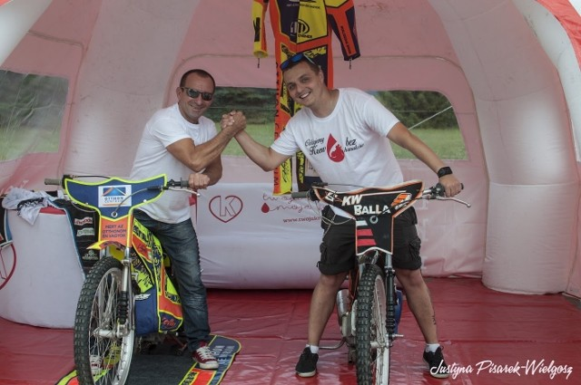 W 2017 roku gościem specjalnym akcji był Zoltan Adorjan (na zdjęciu z lewej)