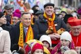 Orszak Trzech Króli 2020 [ZDJĘCIA] [WIDEO] Warszawa: Kolorowy pochód z udziałem prezydenta. Tysiące mieszkańców stolicy na ulicach miasta