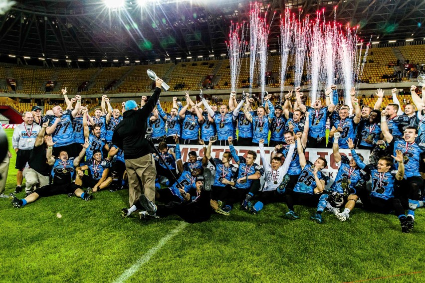 Superfinał Panthers - Seahawks Gdynia 2017 TRANSMISJA NA...