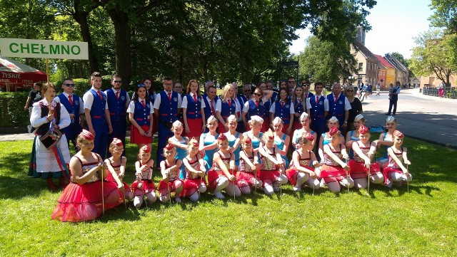 Zarówno Orkiestra Dęta ChDK, jak i Mażoretki spodobały się publiczności w Sławnie
