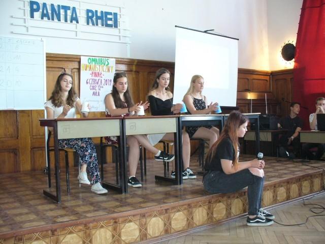 W konkursie brali udział uczniowie klas pierwszych i drugich