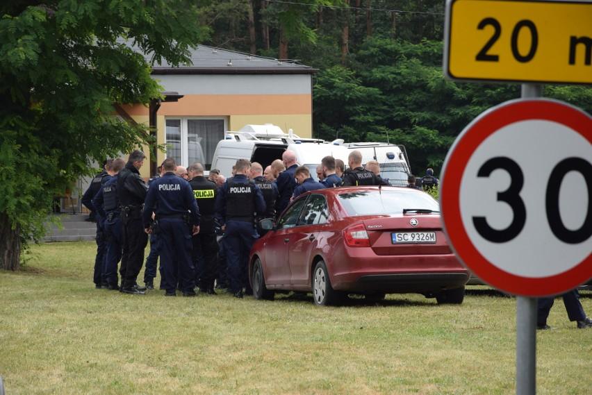 Policja wydała oświadczenie w sprawie zabójstwa w Borowcach...