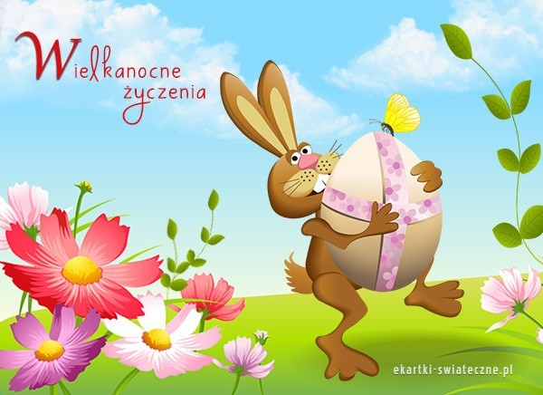 życzenia Wielkanocne Kartki Wielkanocne Najpiękniejsze