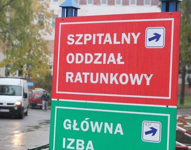 Szpital we Włocławku wstrzymał przyjęcia do oddziałów internistycznych