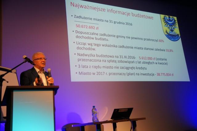 Prezydent Wadim Tyszkiewicz przekonuje, że kiedy jest gospodarka, musi być też kultura