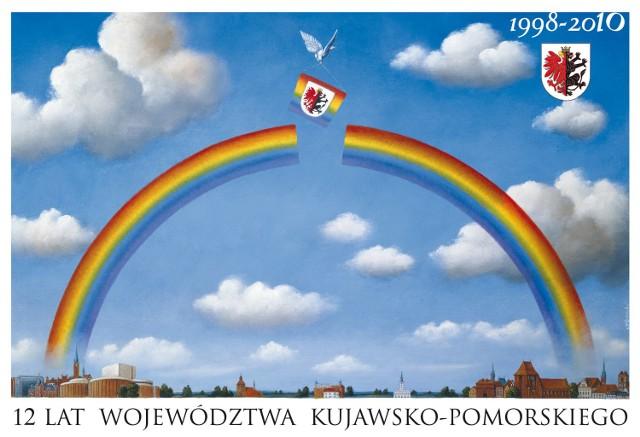 Plakat Rafała Olbińskiego