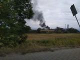 Pożar w Jeleniej Górze. Czarny dym nad miastem