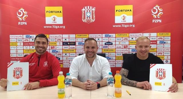 Dawid Kubowicz (z lewej) i Bartłomiej Wasiluk nadal grać będą w Rzeszowie