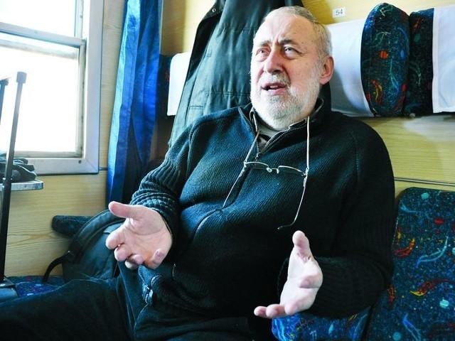 Wzrosnąć musi nie tylko częstotliwość pociągów, ale też ich jakość – uważa Eugeniusz Pudlis